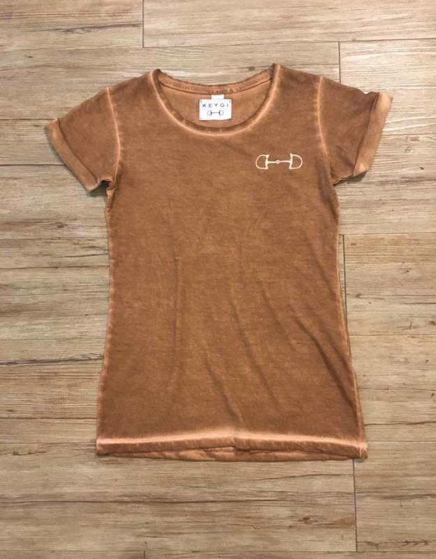 t-shirt senape