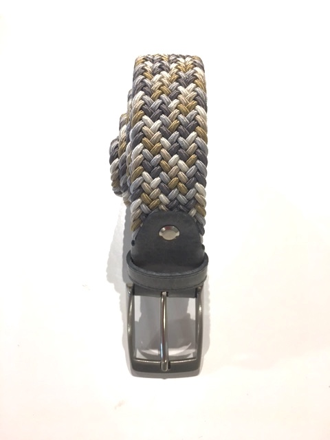 cintura intrecciata grey