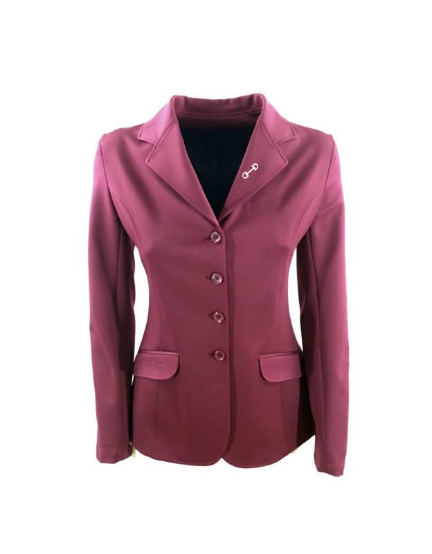 giacca da concorso bordeaux