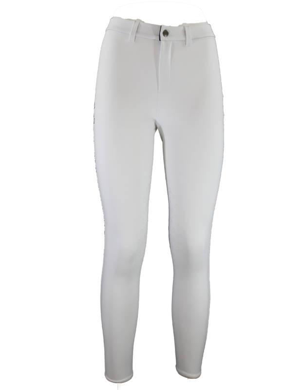 pantalone equitazione bianco donna
