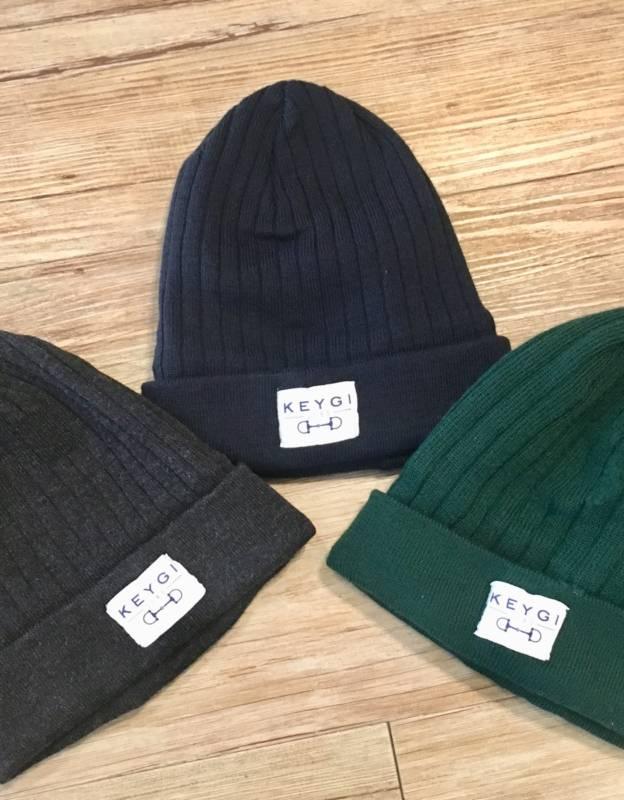 Cappello in lana a costine